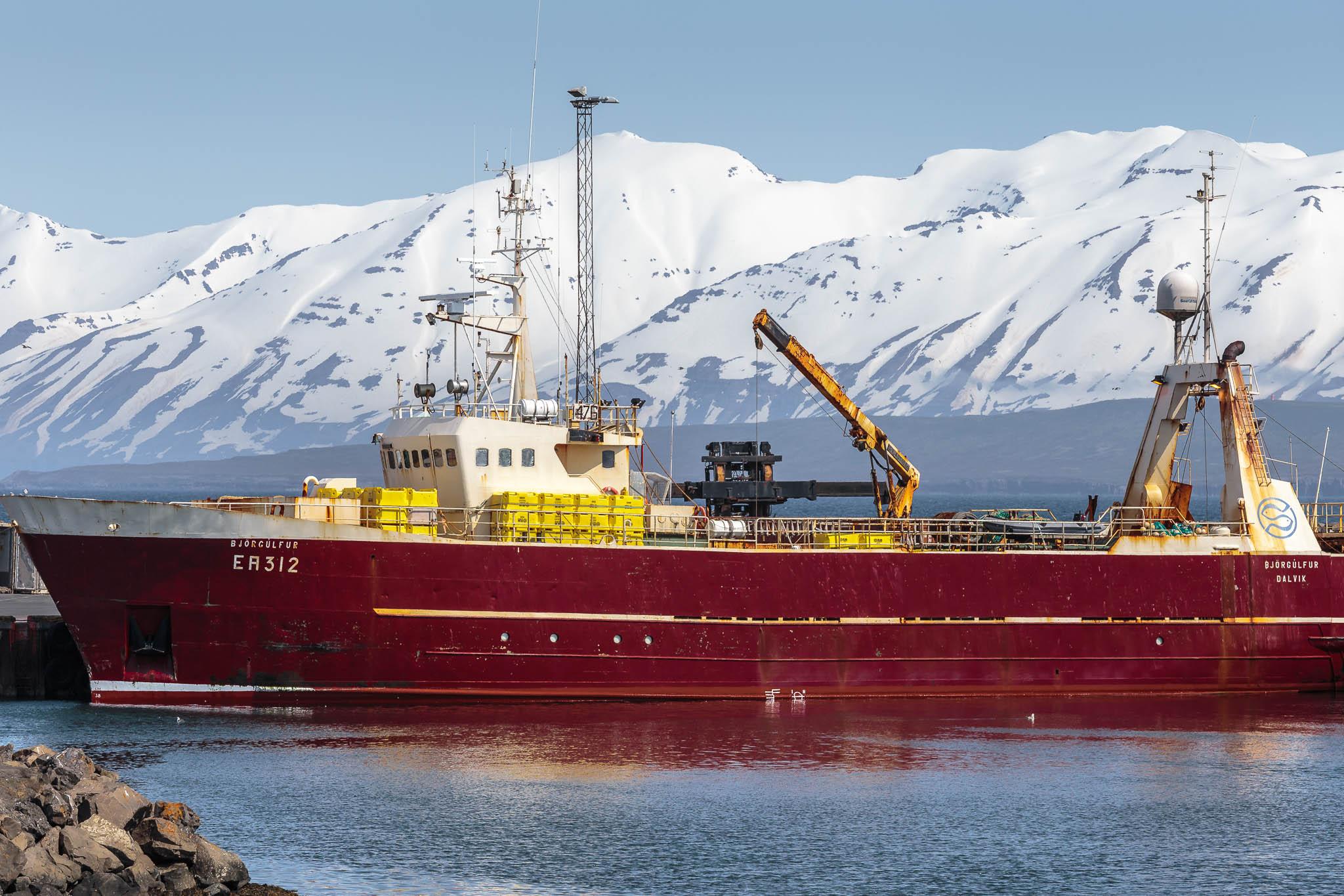 Fishing Boat Dalvik